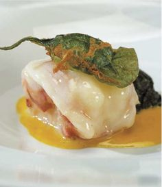 Sweet Butter Braised Maine Lobster with Baby Arrowleaf  Spinach and a Saffron-Vanilla Sauce ByChef Thomas Keller, Yountville, CA  Wine Pairing: A flavorful Napa Valley Chardonnay