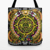 Tote Bag featuring Fabric Pattern by Eduardo Doreni