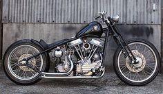 Harley Davidson Panhead 1958 By Bullet Custom #harleydavidsonchopperscustombobber