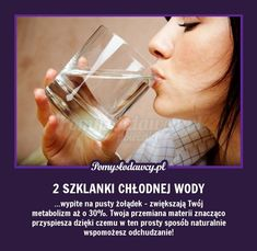 PROSTY TRIK WSPOMAGAJĄCY ODCHUDZANIE O KTÓRYM NIE WIESZ! Alternative Therapies, Healthy Diet Recipes, Body Detox, Health Advice, Weight Loss Tips, Body Care, Beauty Hacks, Health Fitness, Personal Care