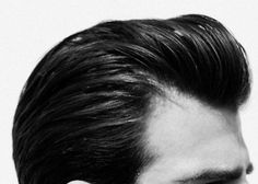 "perfect men's ""greaser"" hair"