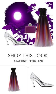 """""""Stunner"""" by missmygreenhair ❤ liked on Polyvore featuring Balenciaga"""
