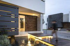 15 ideas modernas para la entrada de tu casa (De Yadira Espinoza - homify)
