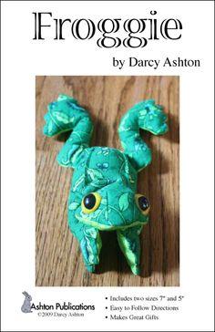 Beanbag Frog Pattern