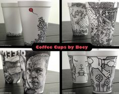 Coffee Cups by Boey