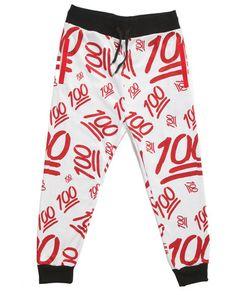Mission™ Jogger Pants (100 Emoji)