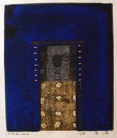 HAYASHI Takahiko - painting, collage 2002