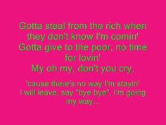 aqua - my oh my lyrics - YouTube