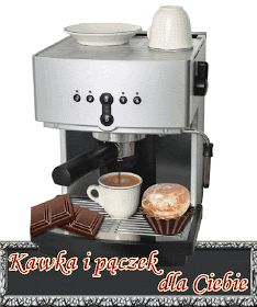 Gify , obrazki i wierszyki na kazdą okazje: Tłusty Czwartek - Zapusty Espresso Machine, Coffee Maker, Kitchen Appliances, Humor, Coffee Maker Machine, Cooking Ware, Coffee Percolator, Home Appliances, Cheer