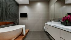 Bathroom Tile Grout Guide - Choose The Right Bathroom Tile Grout Color | Installing tile in the bathroom can change the entire look and feel of the space, but the grout that you choose to complement your tile needs to be more than just an afterthought!