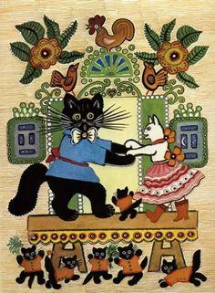 кошки на советских иллюстрациях: 13 тыс изображений найдено в Яндекс.Картинках