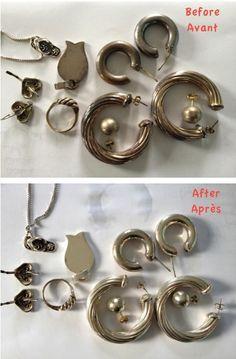 1000 images about trucs astuces on pinterest comment for Astuce pour nettoyer des bijoux en argent