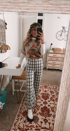 Trendy Fall Outfits, Fall Fashion Outfits, Mode Outfits, Fall Winter Outfits, Cute Casual Outfits, Autumn Fashion, Hipster Outfits Winter, Winter Teacher Outfits, Fall College Outfits