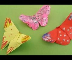 DIY Kid's Origami : How to Make Easy Origami Butterfly