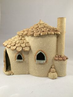 Small Fairy cottage oneoff handmade frost proof by HereNorTherey