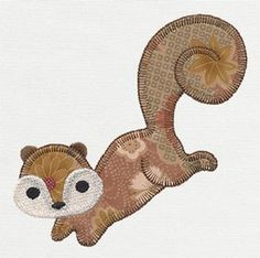 Follow this spunky squirrel into the Patchwork Thicket, where magical gnomes and sweet animals live.