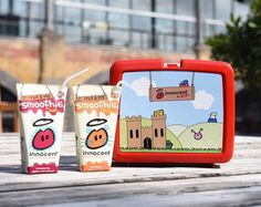 Our new fruit & veg smoothies for kids. Packed with a whole portion of fruit and veg, and perfect for lunch boxes and little hands. Grab them on buy one get one free in Sainsbury's and Waitrose now.