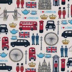 British Icons in Cream lisa_gunn