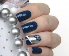 Hannukah Nails :D
