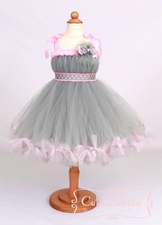 Petti Tutu Dress Halloween Mouse Costume by Cutiepatootiedesignz