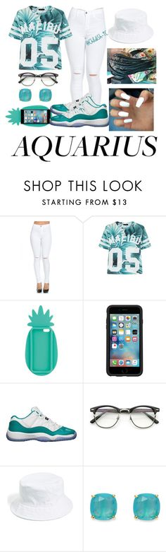 """""""Aquarius💦"""" by childish-tc ❤ liked on Polyvore featuring Miss Selfridge, OtterBox, Retrò, ZeroUV, Amici Accessories and Kate Spade"""