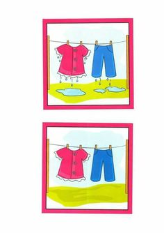 (2017-02) Vådt, tørt Preschool Learning Activities, Preschool Activities, Story Sequencing Pictures, Nursery Worksheets, Arabic Alphabet Letters, Opposite Words, Material Didático, Language Development, Kids Education