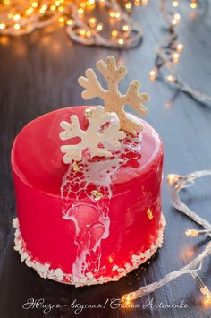 https://flic.kr/p/BtC8fk | tort-novyj-god-shampanskoe-klubnika-1 | strawberry shampagne new year cake, mirror glaze
