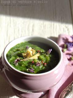 Zuppa di verdure e pollo