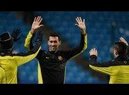 Busquets agradece la fórmula con Xavi, Iniesta y Cesc
