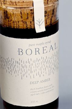 Boreal | Pure Maple Syrup on Behance