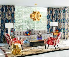 No one could ever call Jonathan Adler a conservative designer. Or a sedate one, for that matter. But he's sure got that elusive quality, the one the French call...