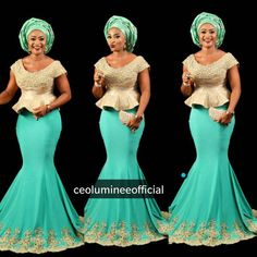 Step up your game with these eye-popping and uber-classy Aso-Ebi styles…