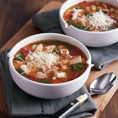 Tuscan Chicken Soup - 105 Favorite Slow-Cooker Recipes - Cooking Light