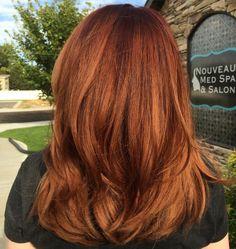 Rose Gold Hair / Balayage