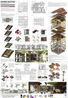 Presentation Board Design, Architecture Presentation Board, Project Presentation, Architecture Tools, Architecture Graphics, Concept Architecture, Architect Design, Autocad, Thesis