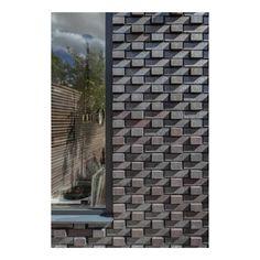 Design Homes, House Design, Brick Extension, Black Brick, Refurbishment, Architects, Skyscraper, London, Brown
