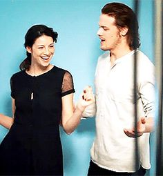 §§º§§ Outlander | Sam Heughan & Caitriona Balfe - They are so fantastic together!