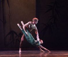 "Oakland Ballet Company performing ""Bamboo"" in 2001."