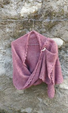 Crochet stole #kiritzasworks