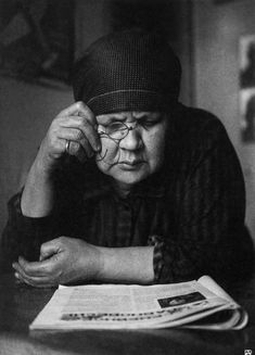 Mother's Portrait by Rodchenko.