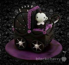 Vampire baby shower cake! - Cake Wrecks