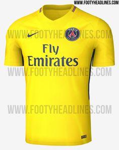 PSG terá camisa amarela em homenagem à jogadores brasileiros   Mantos do Futebol Camisas de Futebol