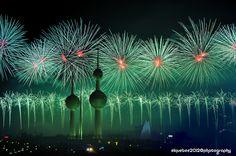 Kuwait Fireworks Display by elquebee1, via Flickr