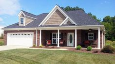 House Plan 51455   Ranch Traditional Plan with 1340 Sq. Ft., 2 Bedrooms, 2 Bathrooms, 2 Car Garage