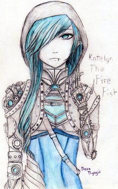 KATELYN STEAMPUNK by Neonnyagic on DeviantArt