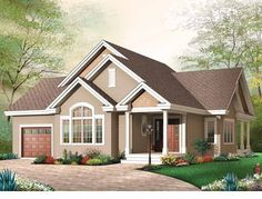 Eplans Bungalow House Plan - Quaint Bungalow Living - 1456 Square Feet and 3 Bedrooms from Eplans - House Plan Code HWEPL13529
