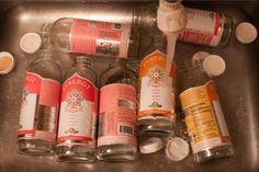 Sanitizing old kombucha bottles for reuse