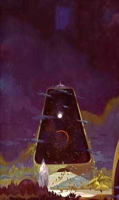 The Stars, Like Dust by Isaac Asimov (first published in 1951), cover art by Paul Lehr for 1972 edition.