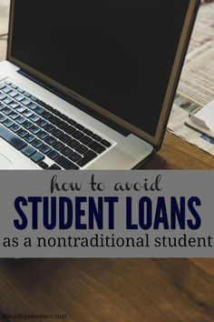 Here's how to avoid student loans as a nontraditional student with pell grants, frugality, and smart college planning. Financial Aid For College, College Success, College Planning, Education College, Higher Education, College Courses, College Tips, Physical Education, Paying Off Student Loans