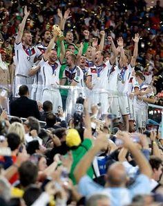 Informando24Horas.com: Alemania campeón por 4ta. vez en la historia